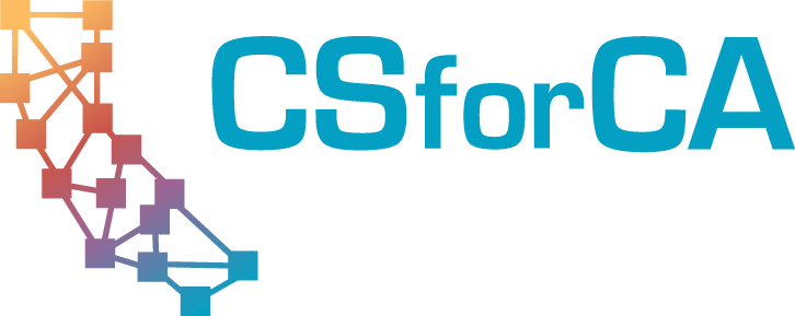 Logo for CSforCA